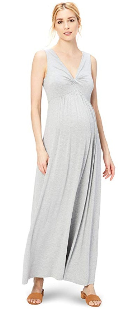 Daily Ritual Women's Maternity Maxi Dress
