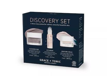 Grace + Tonic Discovery Botanical Skincare Set