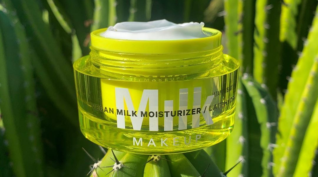 Milk Makeup's new Vegan Milk Moisturizer in packaging