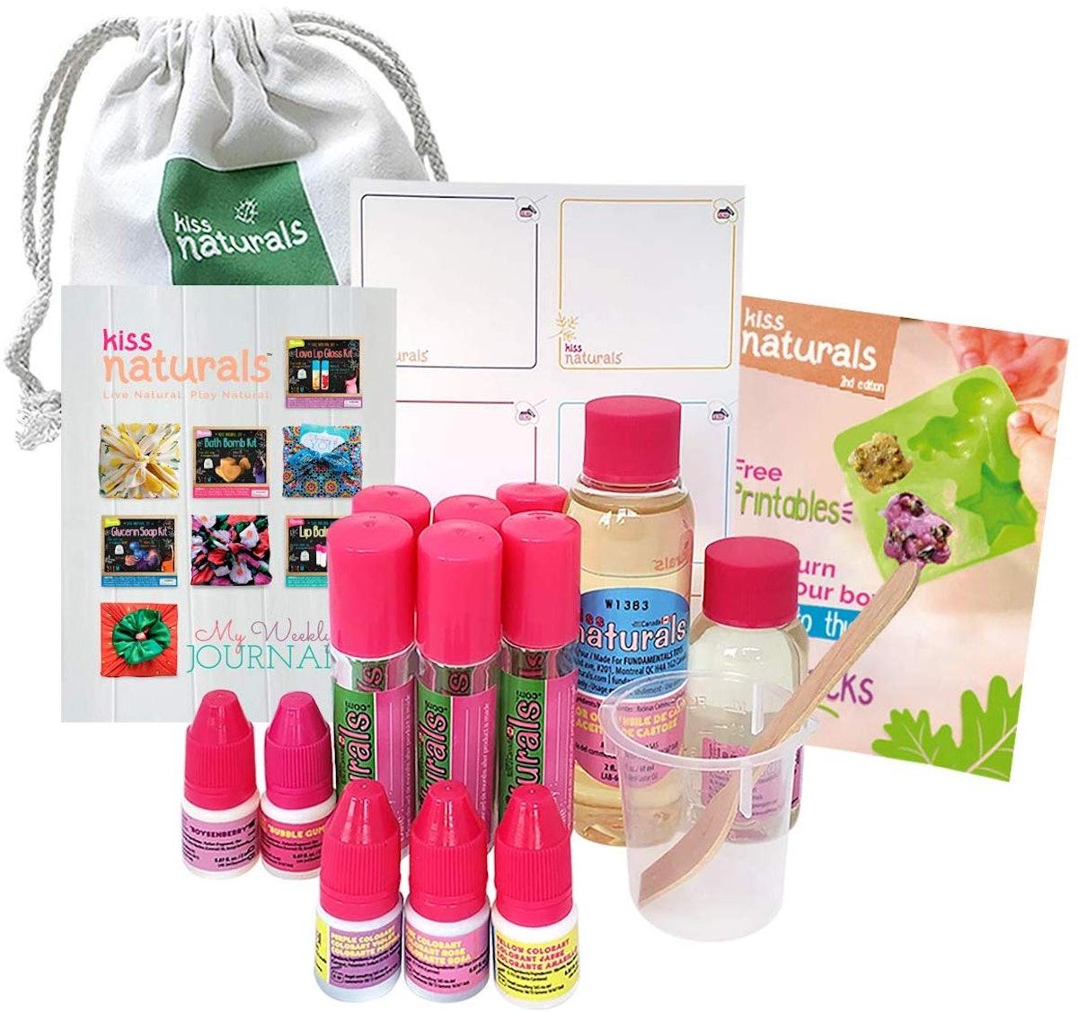 Kiss Naturals DIY Lava Lip Gloss