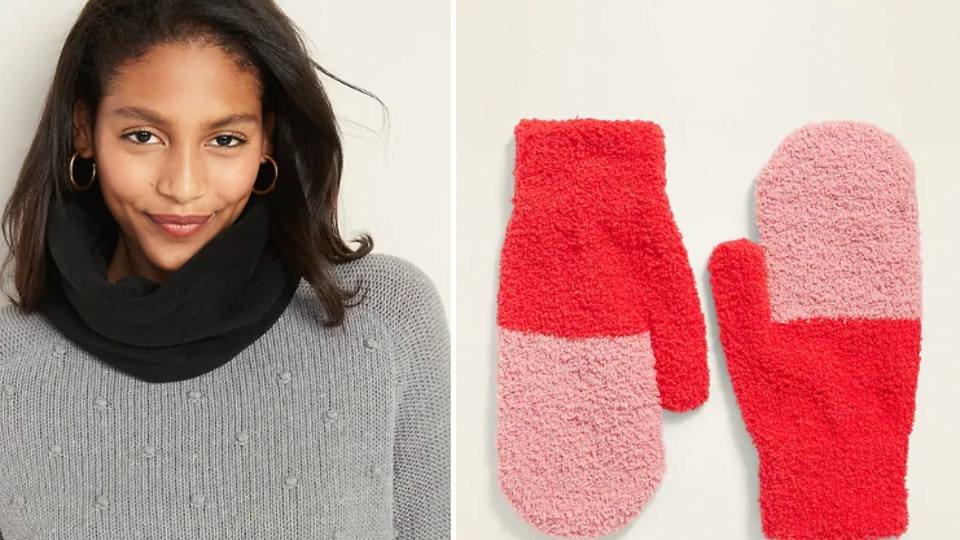 The best deals at Old navy's holiday 2019 sale: scarves and mittens for under $3