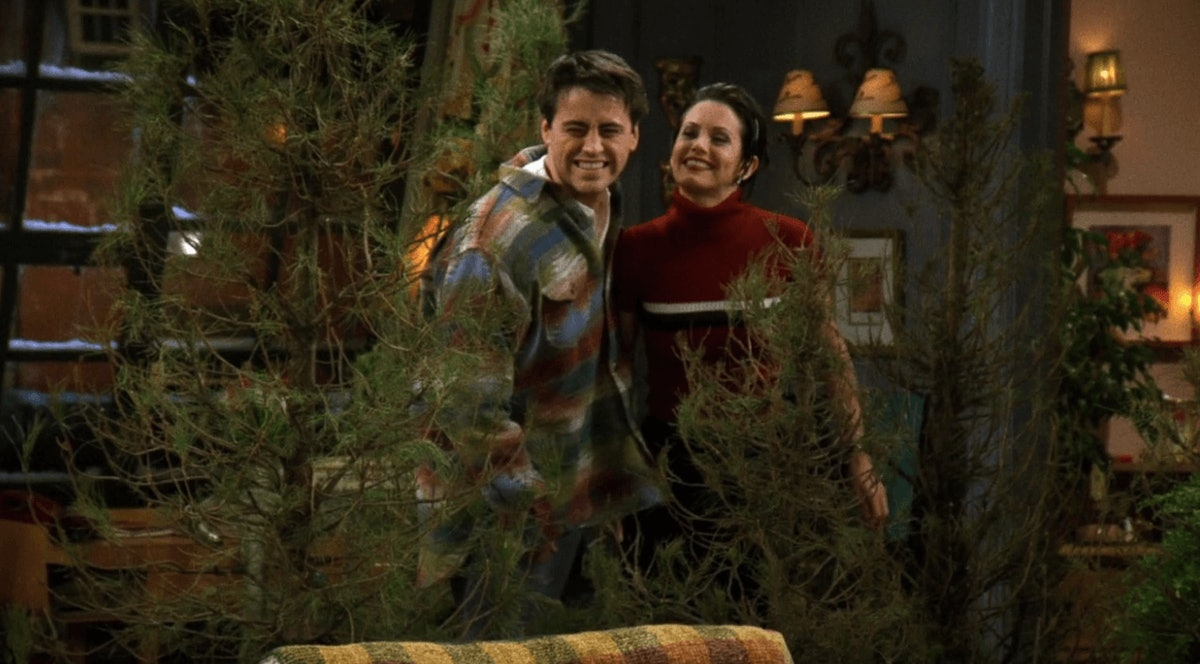 Monica and Joey on 'Friends'