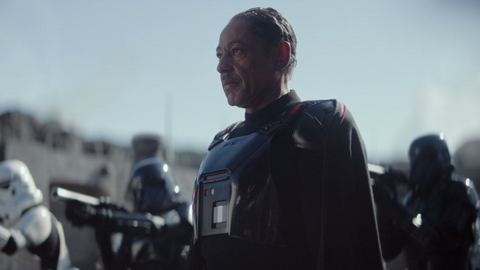 Image result for the mandalorian moff gideon""