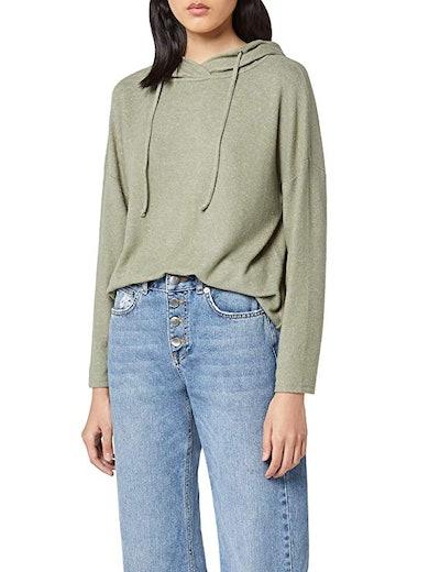 Women's Oversized Jersey Hoodie by find.