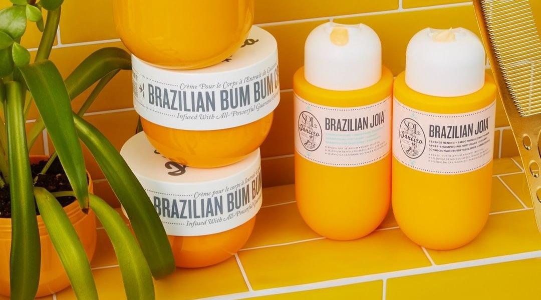 Sol de Janeiro's new Brazilian Joia Shampoo and Conditioner set