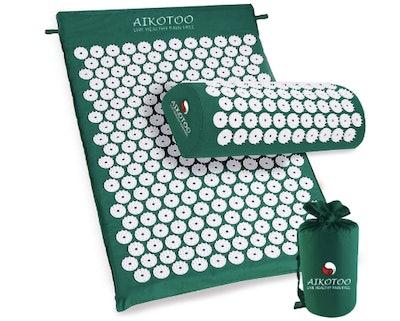 Aikotoo Acupressure Mat and Pillow Massage Set
