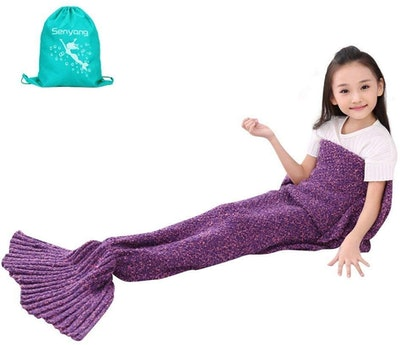 Senyang Mermaid Tail Blanket