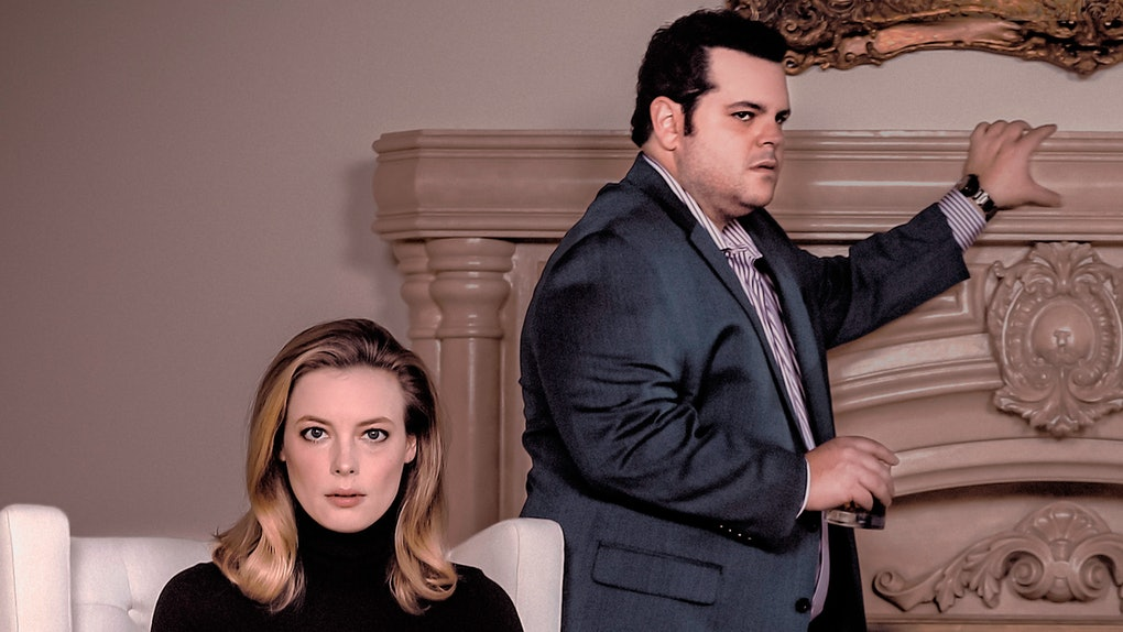 Gillian Jacobs and Josh Gad in 'Blood Ties'