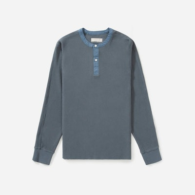 The Waffle-Knit Henley
