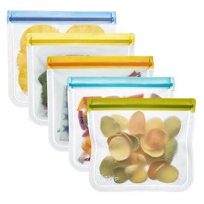 (re)zip Lay-Flat Lunch Leakproof Reusable Storage Bags