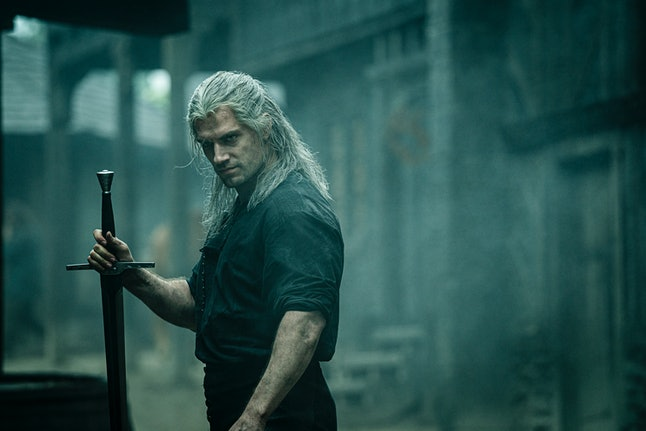 Henry Cavill stars in The Witcher on Netflix.