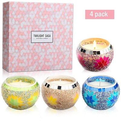 YINUO MIRROR Scented Candle Gift Set (Set of 4)