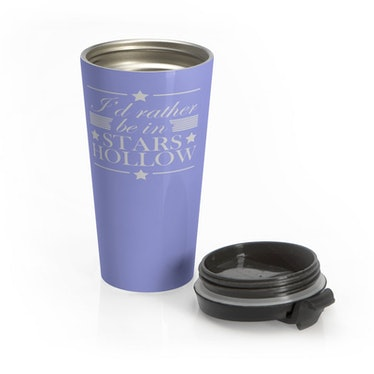 I'd Rather Be In Stars Hollow Travel Coffee Mug