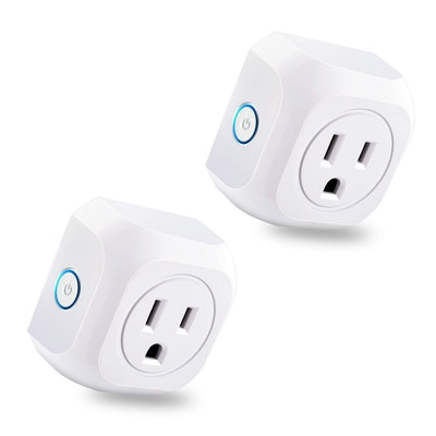 Smart Plug 2 Pack Wifi Enabled Mini Outlets Smart Socket