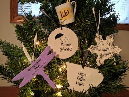 Gilmore Girls Christmas Ornaments