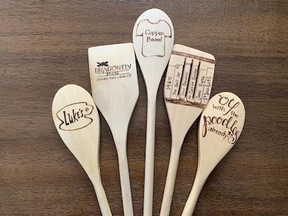 Gilmore Girls Inspired Woodburned Spoons