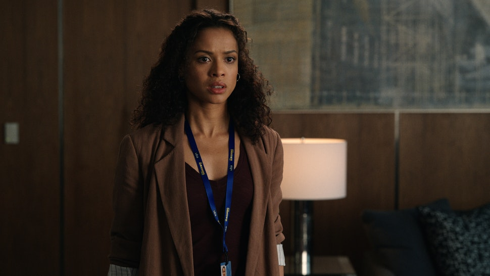 Gugu Mbatha-Raw as Hannah in 'The Morning Show'