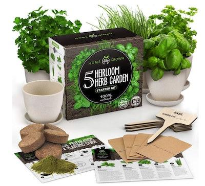 Home Grown Indoor Herb Garden Starter Kit