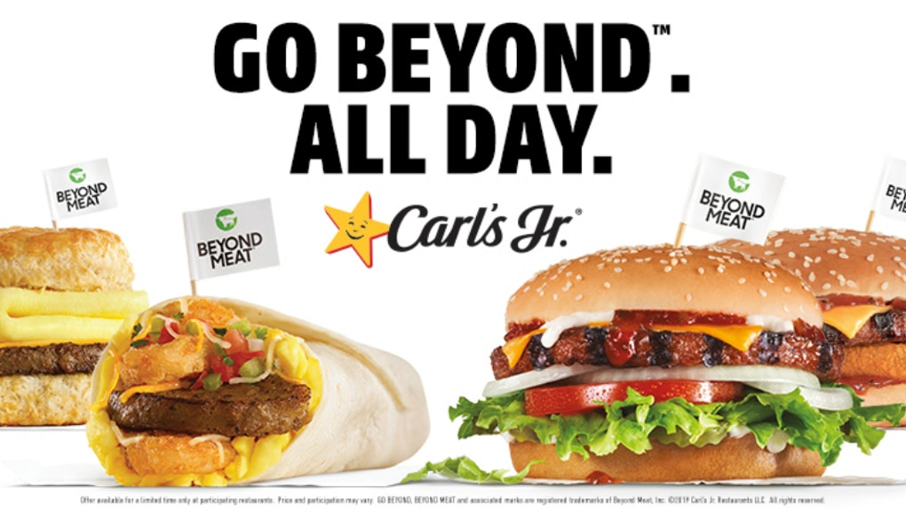 Carl's Jr.'s & Hardee's New Beyond Meat All-Day Menus mean you can grab a meatless option at any time of day.