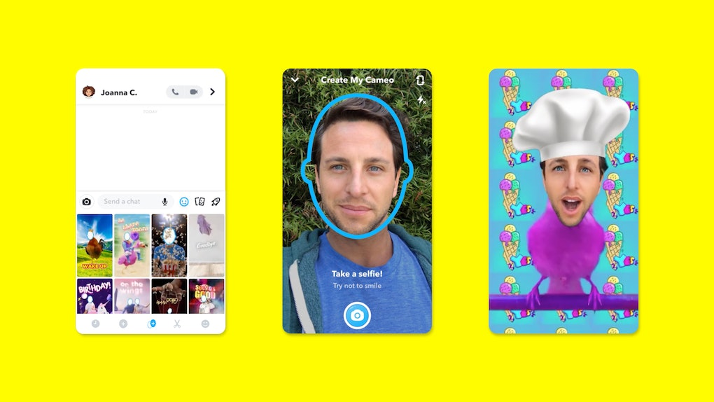 Snapchat's New Cameo Feature lets you put yourself in hilarious videos to suit every emotion.