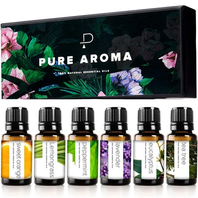 Pure Aroma Essential Oil Gift Set (6-Pack)