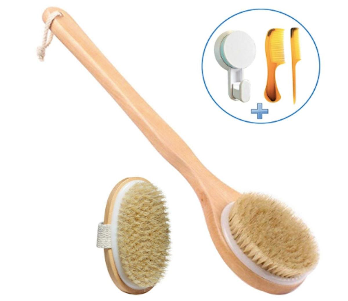 VASLON Boar Bristle Body Brush