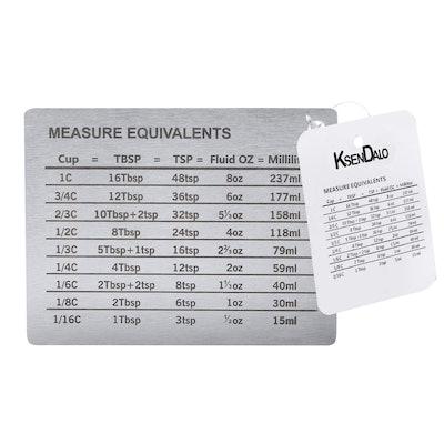 KSENDALO Stainless Steel Measure Conversion Magnet