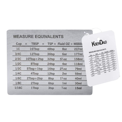 KSENDALO Stainless Steel Measure Conversion Magnet