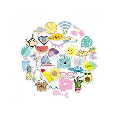 Ingzy 35 PCs Cute VSCO Stickers