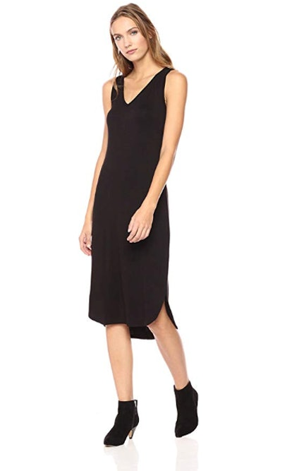 Daily Ritual Women's Jersey Sleeveless V-Neck Midi Dress