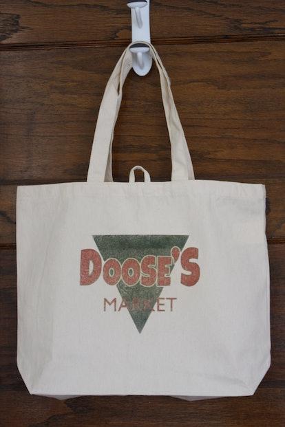 """Canvas Tote Bag """"Doose's Market"""""""