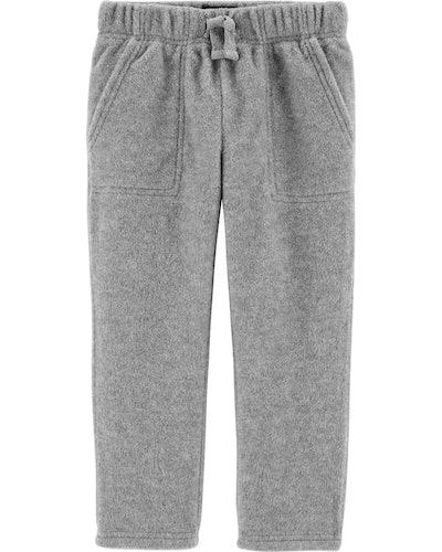 OshKosh Toddler Microfleece Pants in Gray