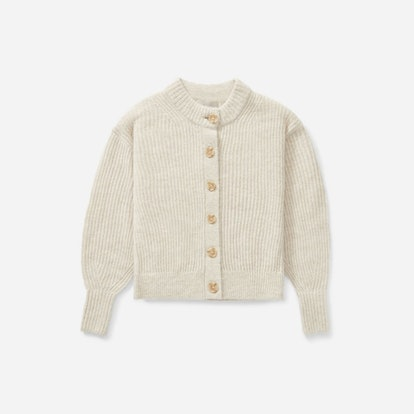 The Cropped Alpaca Cardigan