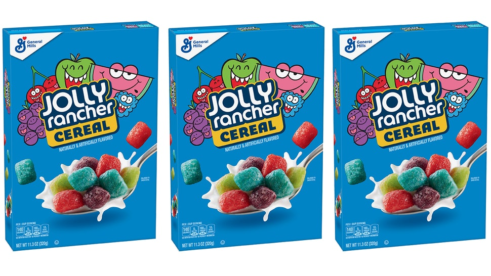 Jolly Rancher Cereal exists and is exclusively available at Walmart.