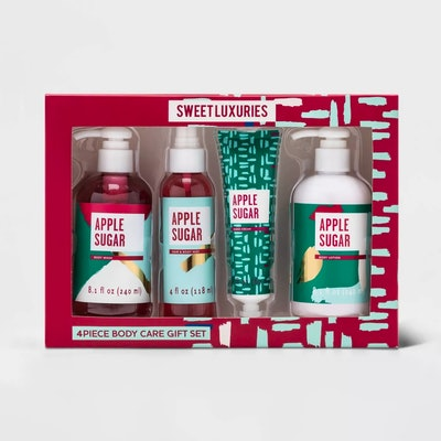 Target Beauty Apple Sugar Bath and Body Gift Set