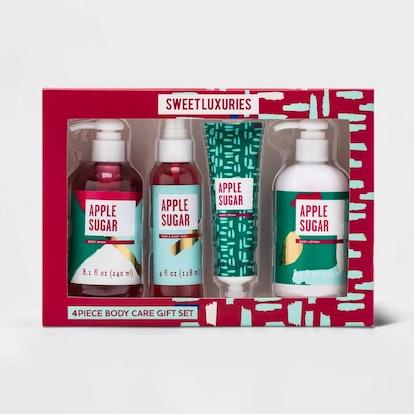 Target Beauty Apple Sugar Bath and Body Gift Set