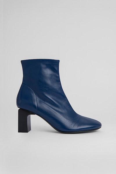 Vasi Navy Leather