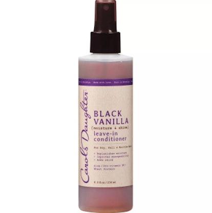 Black Vanilla Moisture and Shine Leave-In Conditioner