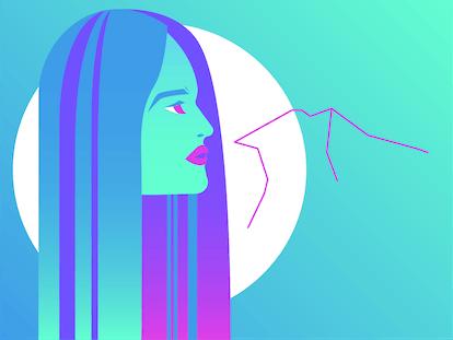 Drawing of Aquarius for sex life horoscope 2020.