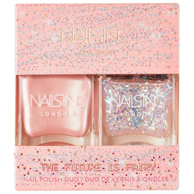 Nails Inc. The Future Is Fairy Nail Polish Duo