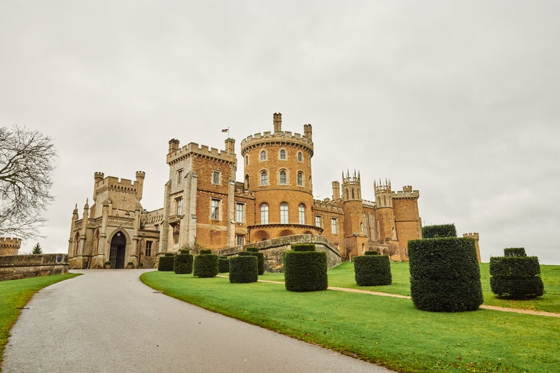 You can Airbnb the King's Suite in Belvoir Castle.
