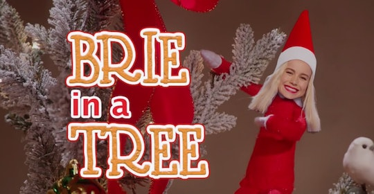 Brie Larson's spin on the Elf on the Shelf is hilarious.