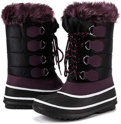 Mysoft Women's Waterproof Winter Boot