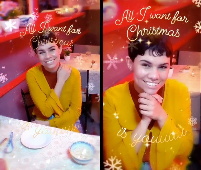"""Instagram's new """"All I Want For Christmas Is You"""" celebrates the 25th anniversary of the Mariah Carey hit."""