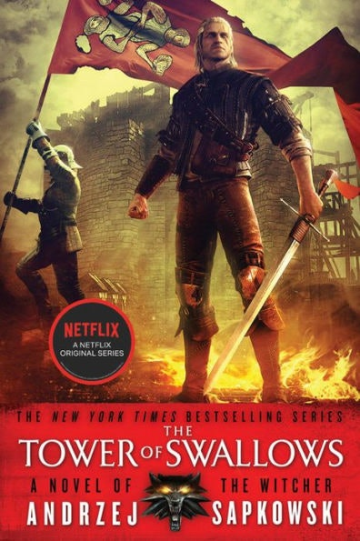 'The Tower of Swallows' cover from 'The Witcher' series