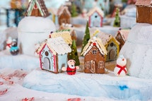 This gingerbread village is on display at The Royal.