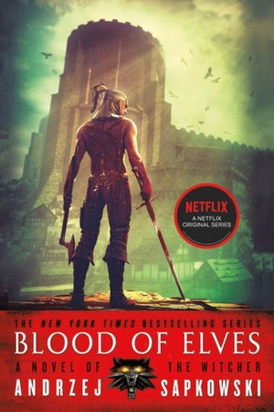 The 'Blood of Elves' cover from 'The Witcher' series