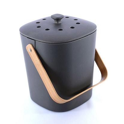 Bamboo Kitchen Compost Bin