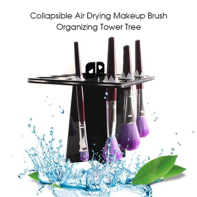 BEAKEY Makeup Brush Mat And Drying Rack