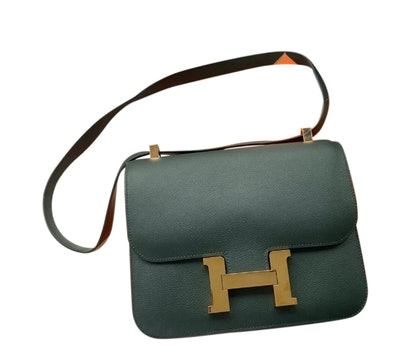 Constance Leather Crossbody Bag